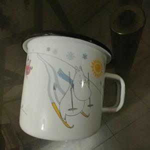 Enamel Moomin Collector's mug